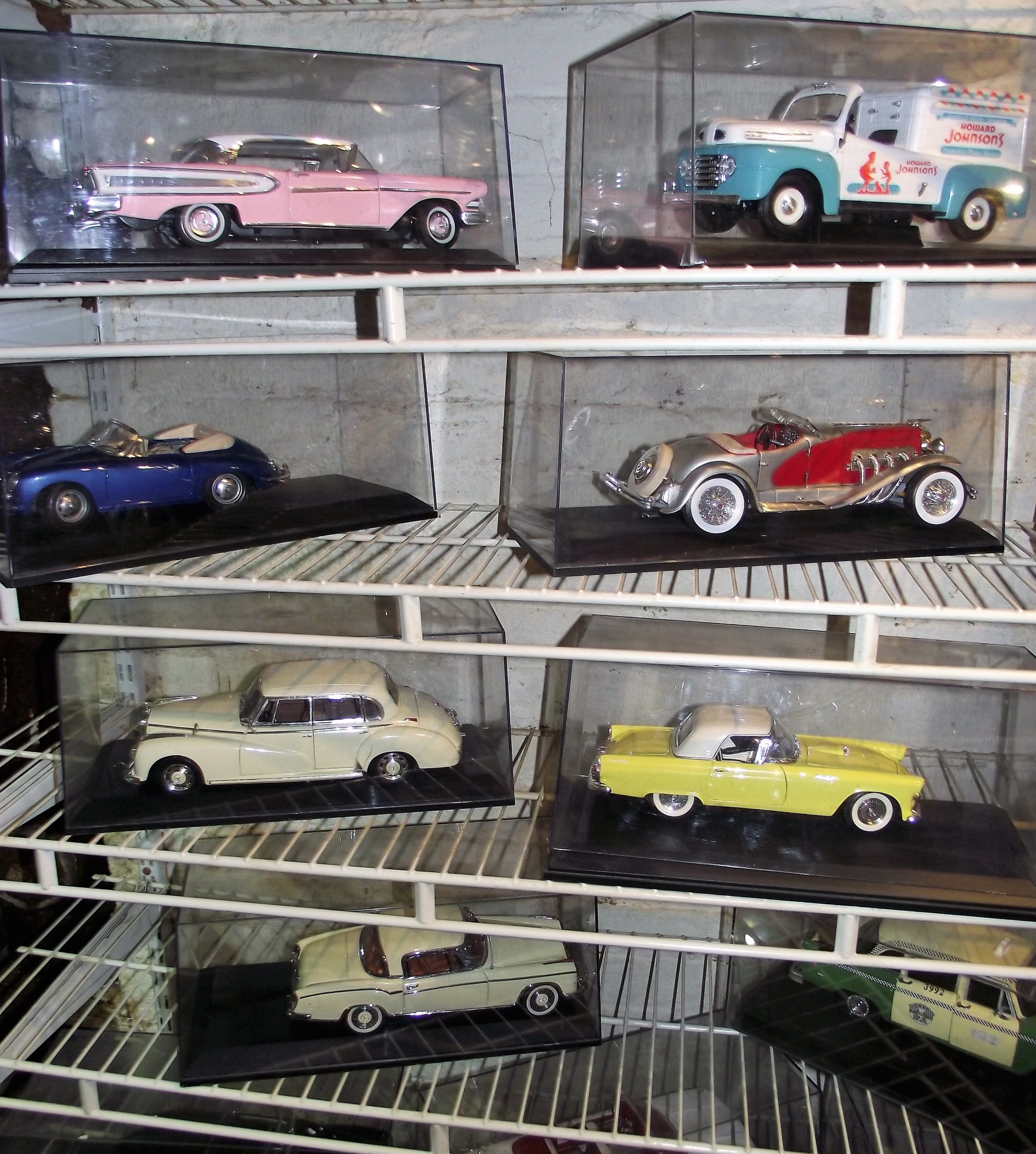 Lower Level Cars and Hood Ornaments