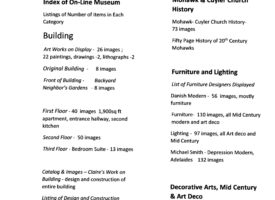 Index of ModerneAmerica On-Line Museum  – Double click and ctrl+ to expand click and crtrl+